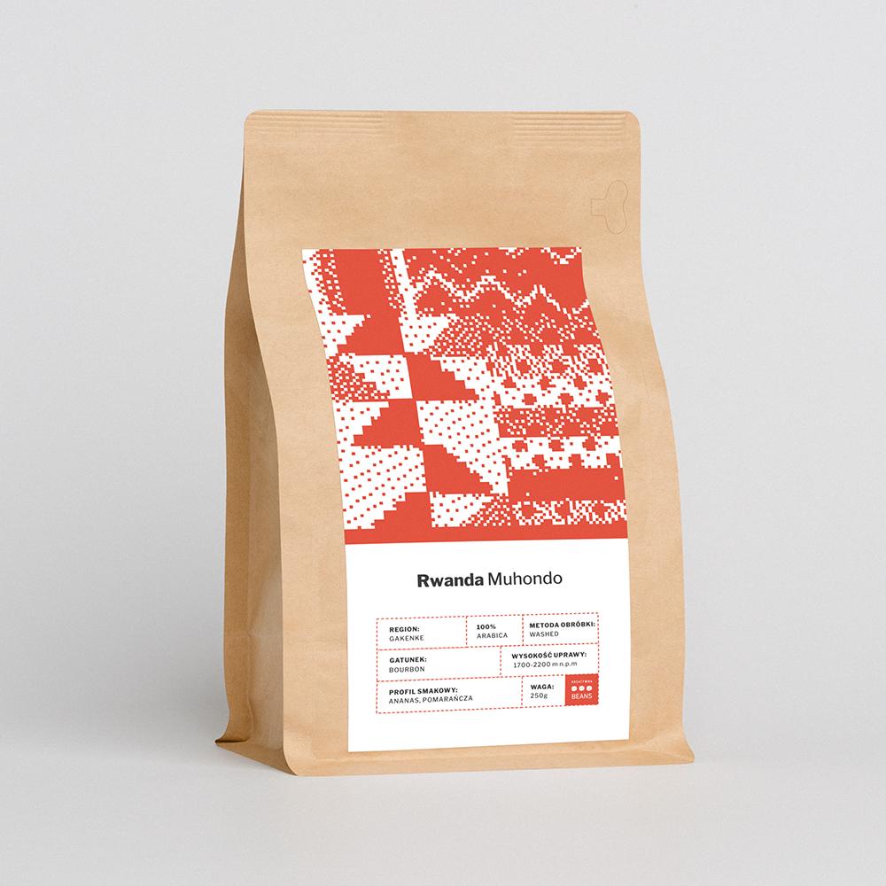 Rwanda Muhondo Bourbon, speciality , kawa ziarnista